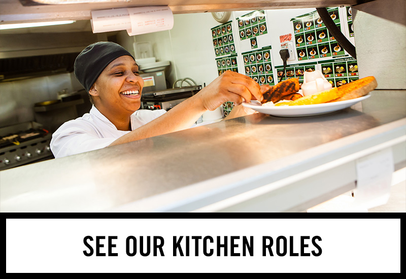 Kitchen roles at Thatched House